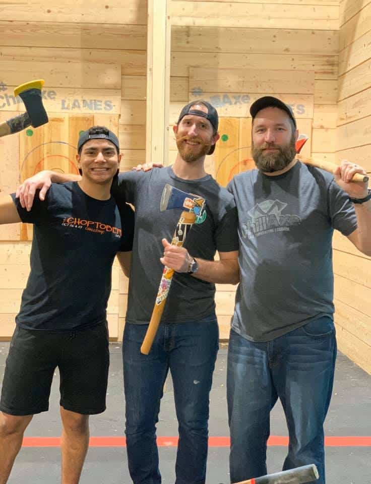 book your next axe throwing event near north huntingdon, pa